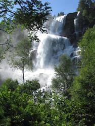 Waterfall by Lileya