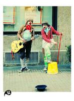 Street Clowns by kaya01