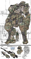 Multicammed Mecha by CatastrophicTheMerc