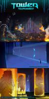 TowerTournamentOCT: Backgrounds by MirChuChu