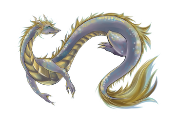 Dragon BANNER by DRA9ONS