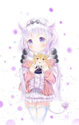 Kanna Kamui (Kobayashi-san Chi no Maid Dragon) by Fhilippe124