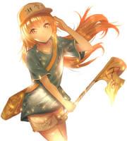 Platelet-chan  fanart by Fhilippe124