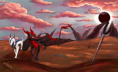 Dawn as Dust Settles by Lunoxius