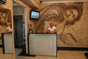 hairdressing salon by tauart