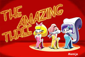 The Amazing Three by Memije