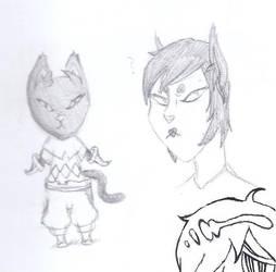 Day 8: Black Cat by teragram98