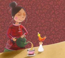 Tea time by kperusita
