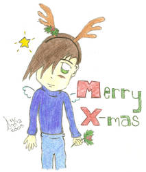 Christmas Trowa Colored by Savi04