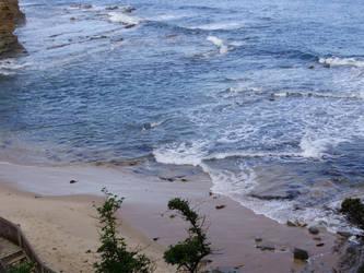 By The Seashore by freckleyunie