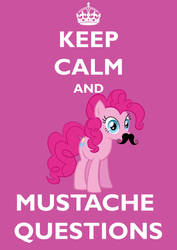 Keep Calm and Mustache Questions by Brandatello