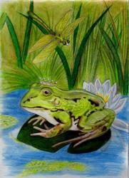 His Green Majesty by Alinnela