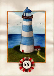 Lighthouse by Alinnela