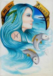Pisces by Alinnela