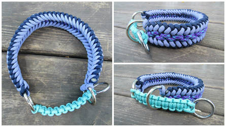 Stark Martingale Collar by TheHoundsCrown