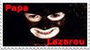 LOG - Papa Lazarou Stamp by policegirl01