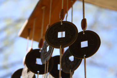 Coin Wind Chime by policegirl01