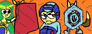 [MIIVERSE] MegaMan's Bad Day by DrCoeloCephalo