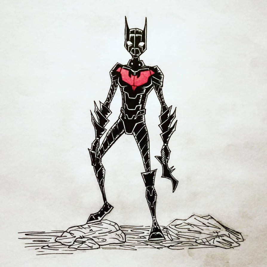 batman beyond by cecylart