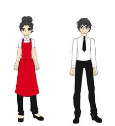 BATIM Oc - Mei and Eugene by Ashleysonglover