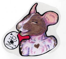 Motti Badge 1 by Mottimuoto