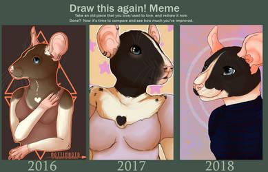 Draw this again! Meme by Mottimuoto