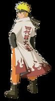 Storm 3: Hokage Naruto Render by xUzumaki