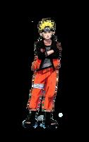 Naruto Uzumaki Render by xUzumaki