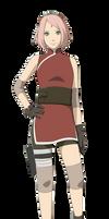 The Last: Naruto: Sakura Haruno Render by xUzumaki