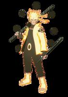 Six Paths Sage Mode Naruto by xUzumaki