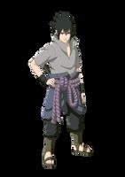 Sasuke Uchiha Sharingan/Rinnegan by xUzumaki