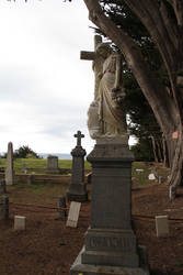 Irish Graveyard by NickBentonArt