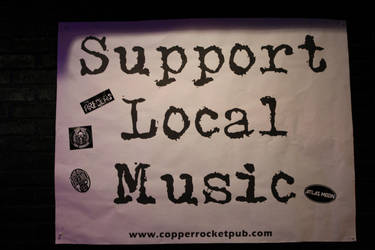 Support Local Music by NickBentonArt