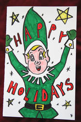 Holiday Card Project 03 by NickBentonArt