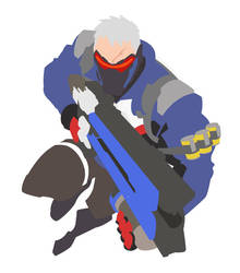 Overwatch - Soldier 76 by Betaalex