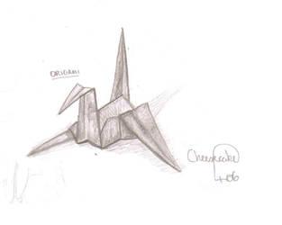 Origami Bird by Cheesecake406