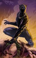 Black Panther! by TyRomsa