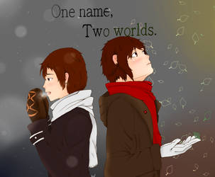 One Name, Two Worlds by wolfpup010