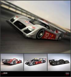 Audi R15C TDI Concept 2010 by ev-one