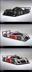 Audi R12C TDI Concept 2010 by ev-one