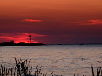 sunset by Trinzy