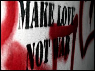 Make love not war by Trinzy