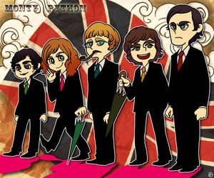 Monty Python by wasawasawa