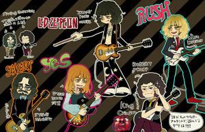 guitar doodle by wasawasawa