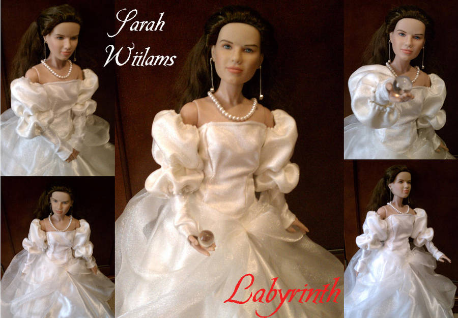 Sarah From Labyrinth Ball Gown By Celestialangeldust On Deviantart
