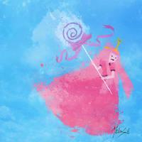 Adventure Time: Princess Bubblegum by BOMBATTACK