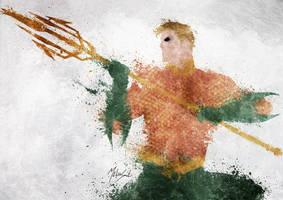 Aquaman by BOMBATTACK
