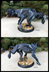 Wolf (Skulpture) by Kahito-Slydeft