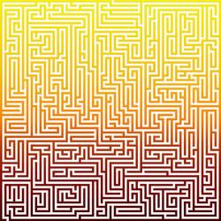 Giant spectrum maze by scottVee