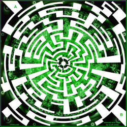 Emerald ring maze by scottVee